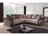 ***AMAZING OFFER***BRAND NEW SHANNON CORNER SOFA AND 3 AND 2 SEATER SOFA ANY WHERE IN UK