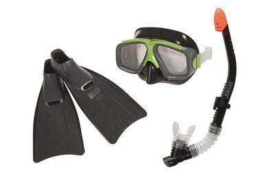INTEX 55959 Reef Rider Schnorchelset Tauchset Maske Schnorchel Flossen Gr. 41-45