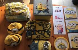 Children's minion bedroom set