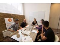 HIGH-QUALITY small group and one-to-one ENGLISH classes for Individuals&Businesses