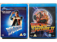 Back to the future 1 and 2 blu-ray movies