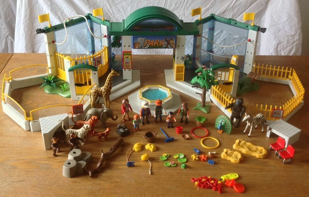 Playmobil Zoo (3240) EXCELLENT CONDITION and well cared ...