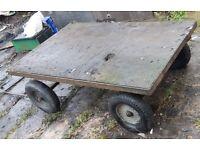 4 Wheel Trolley Cart