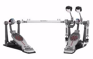 Pearl Eliminator Redline double pedal, belt drive/courroie. Neuve dans la boite