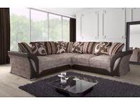 CHEAPEST EVER PRICE! New Shannon Corner Or 3 + 2 Sofa, SWIVEL CHAIRS, Universal corner Sofa