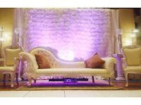 Wedding Sofas,Thrones and chairs Wedding stage Morrocan ,Mandap ,Mehndi