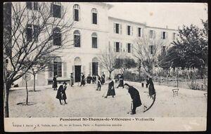 1911 Pensionnat St Thomas de Villeneuve VINTIMILLE VENTIMIGLIA Carqueiranne Var - Italia - 1911 Pensionnat St Thomas de Villeneuve VINTIMILLE VENTIMIGLIA Carqueiranne Var - Italia