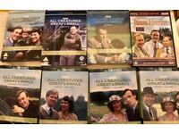 ALL CREATURES GREAT AND SMALL: FIRST FIVE SERIES PLUS CHRISTMAS SPECIALS: ALL IN EXCELLENT CONDITION