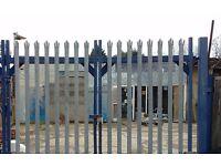 Open Yard + Storage Area