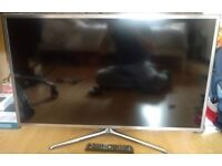 """40"""" LED Smart Samsung TV with Original Stand and Remote"""