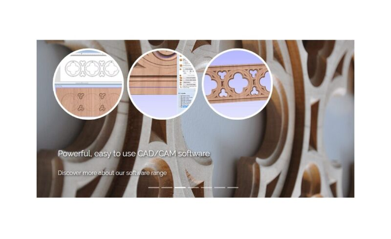 Vectric V-Carve PRO CNC Router Design Software 2D 3D made for production carving