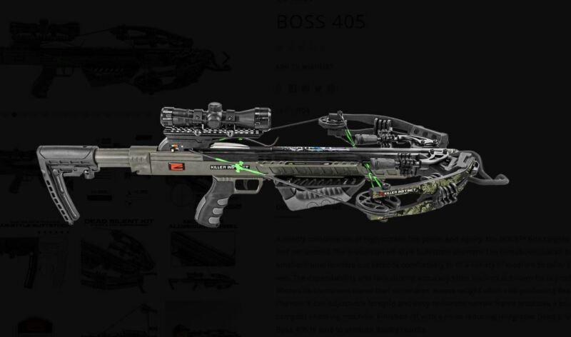 Killer Instinct 1104, Boss 405 Crossbow Package