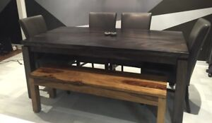 Artemano Suar Wood Basant Dining Table REG $2,300+HST