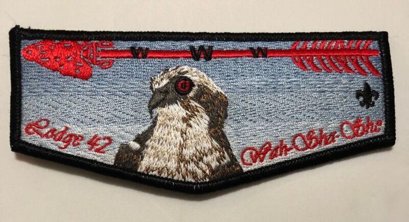 Lodge 42 Wah-Sha-She  F7 Pocket Flap  OA  BSA