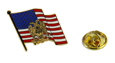 6030698 32nd Degree Scottish Rite Mason United States Flag Lapel Pin Masonic
