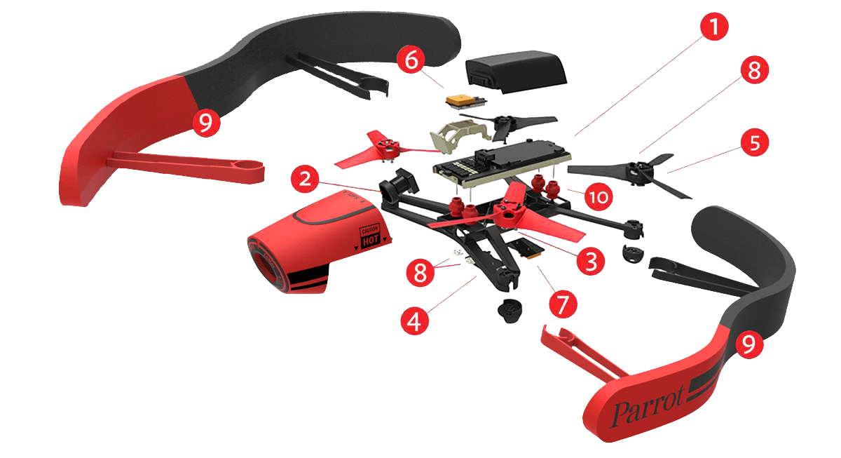 Parrot Bebop 1  Motherboard. BLOWOUT BOOM-BOOM SALE last 10 at this price