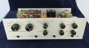 CUSTOM ANODIZED SILVER FACEPLATES FOR DYNACO STEREO PAS TUBE PREAMPLIFIER