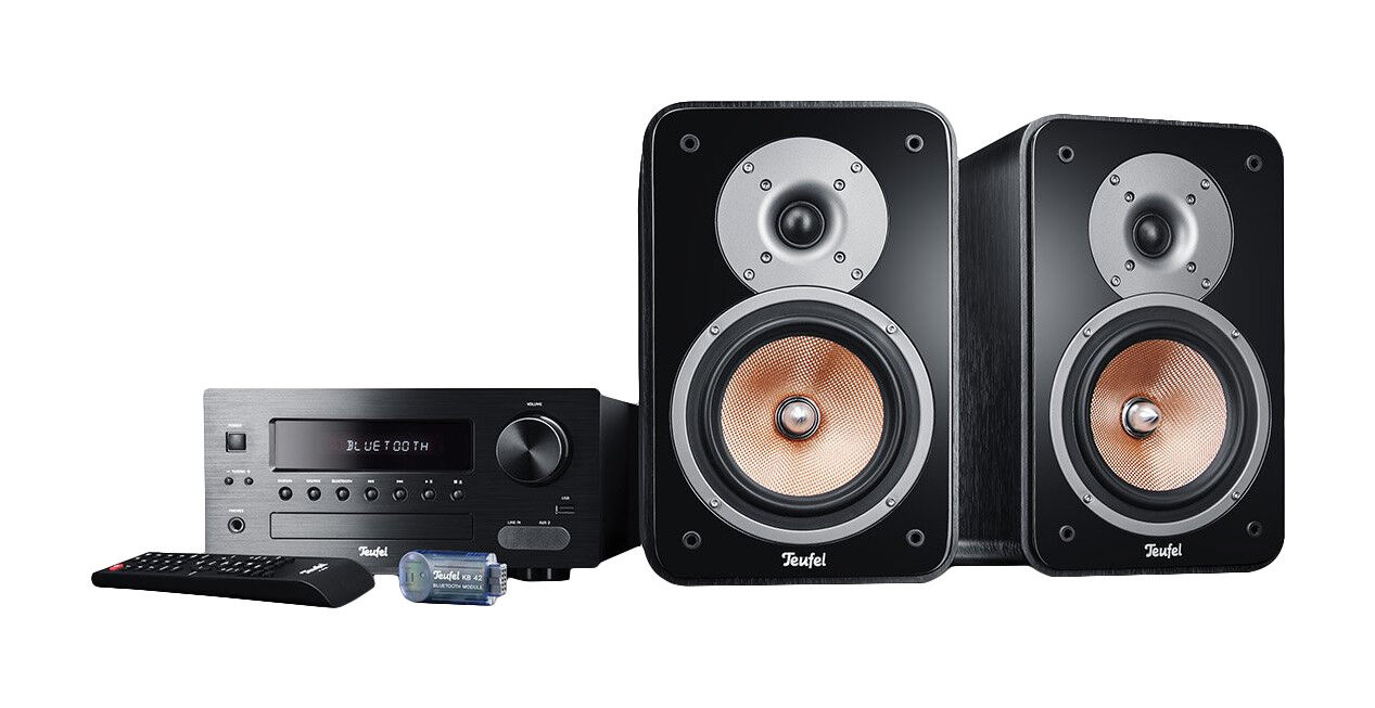 Teufel LITTLE BIG MAN Kombo 42 BT Stereo-Anlage - Schwarz | eBay