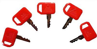 5 John Deere Skid Steer Compact Track Loader Ignition Keys T209428 Kv13427