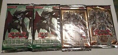 4 1st Edition Booster Packs TLM POTD 2x Each Sealed