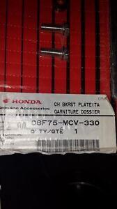 Chrome Backrest Plate for Honda Shadow