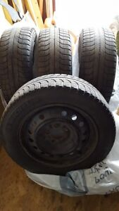Michelin X-Ice Tires & Rims, 205/60 R16