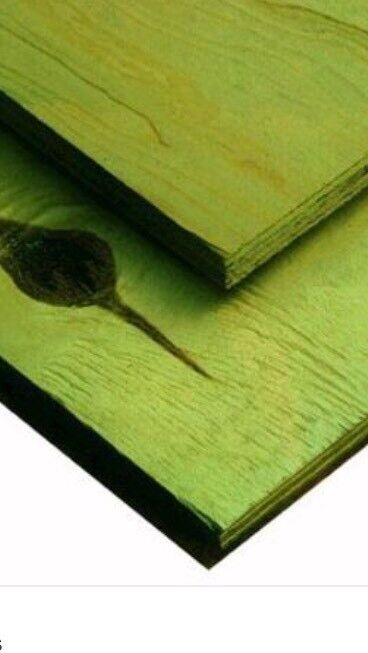 Plywood green treated 18mm