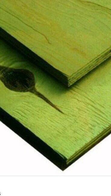 Black or green treated plywood 18mm