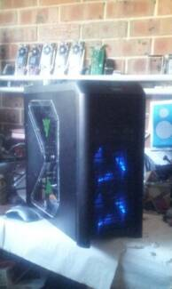 GAMING TOWER:INTEL i7 QUADCORE: WATER COOLED: GTX 750: 12GB RAM