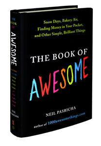 The Book of Awesome about finding the happiness in life Like New