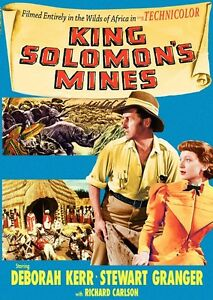 King Solomon's Mines - Stewart Granger - Region 2 compatible DVD New