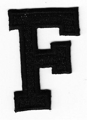 Нашивки LETTERS - BLACK BLOCK LETTER