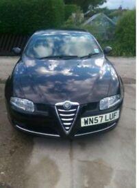Alfa Romeo GT 1.9 JTD, Black, Diesel, 57 plate, Open to offers