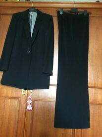Reduced again ...BLACK LADIES SUIT FOR WIDE LEG Trousers
