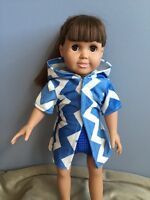 Doll Clothes - swimsuit with coverup