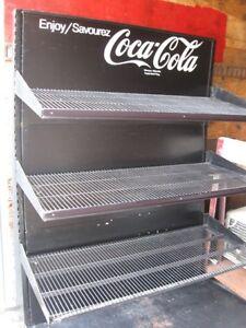 Coca Cola shelf