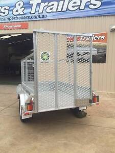 7x4 GALVANISED cage trailer with removable DROP DOWN RAMP Para Hills West Salisbury Area Preview