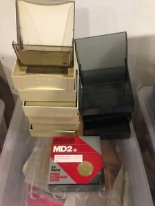 "Free 5 1/4"" floppy diskettes and cases"