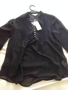 Capture Ladies Black Designer Blouse Size 12 Myrtleford Alpine Area Preview