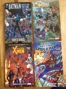 Marvel: Spider man, Batman, X Men
