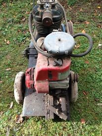 Barn find. Portable Honda gas powered Compressor, with spare Honda engine
