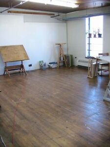 Artists' Studio Work Space Available (Not Live-In)