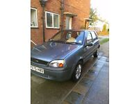 Ford Fiesta 2002 spares or repair, no mot