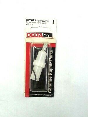 Spray Assembly - Delta RP6073  Diverter Assembly Repair For Kitchen Faucet with Spray (DNR)