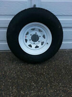 15 inch Trailer Tire/Wheel - Spare