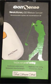 Golf Sense-Revolutionary 3D Motion Sensor