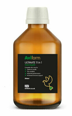 AVIFORM ULTIMATE 11 in 1 New Formula Complete Supplement for Racing Pigeons