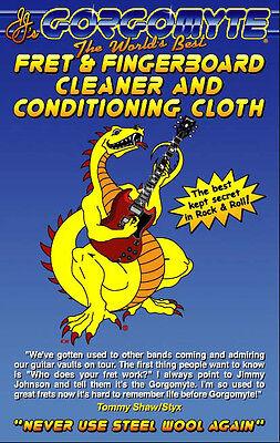 Gorgomyte Fret & Fingerboard Cleaner (Sample Cloth)