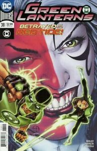 Green Lanterns #38A..1st Red Tide Appearance..Willing to Ship