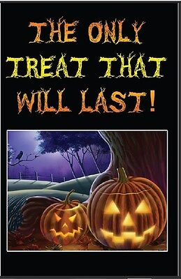 Holiday Christian Gospel Tracts Halloween & Christmas At Cost! Free Shipping! ()